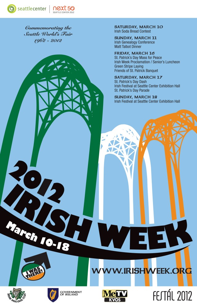 Irish Week Poster 11x17